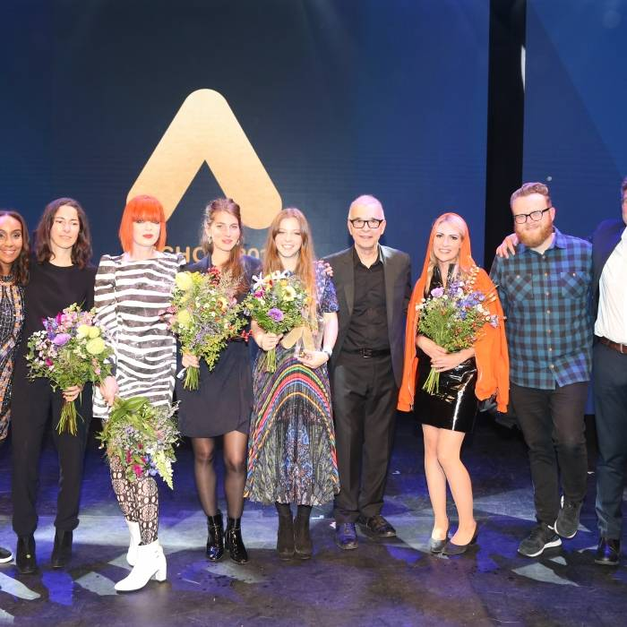 Hadnet Tesfai, BOY, Shirley Manson, Jade Bird, Tony Visconti, Emily Haines, Huw Stephens and Alexander Schulz