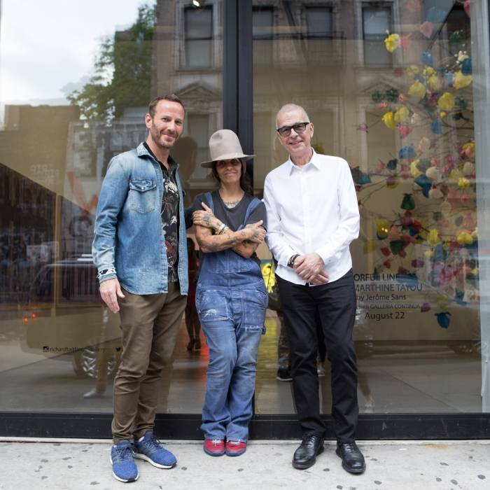 ANCHOR 2018 JURY_Jason Bentley_Linda Perry_Tony Visconti (not in this picture: Skye Edwards) I @Mimi Mohr