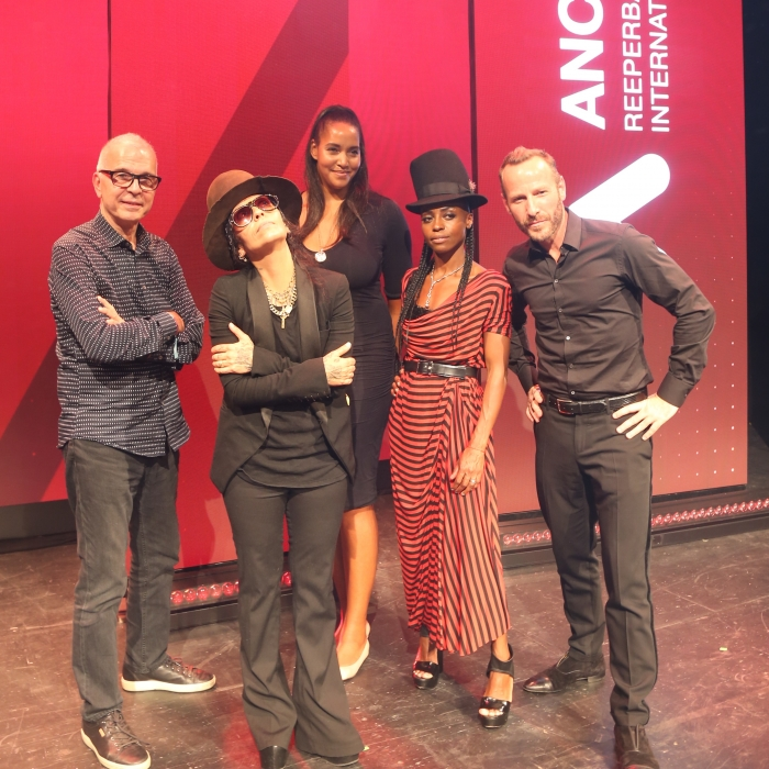 Tony Visconti, Linda Perry, Cassandra Steen, Skye Edwards, Jason Bentley