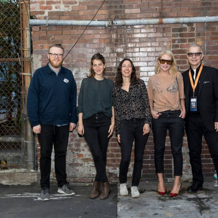 The ANCHOR 2017 jury: Huw Stephens, BOY, Emily Haines, Tony Visconti  I @ Caroline Dorn