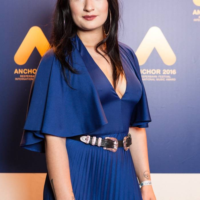 Olivia Sebastianelli  at the blue carpet | © Nina Zimmermann