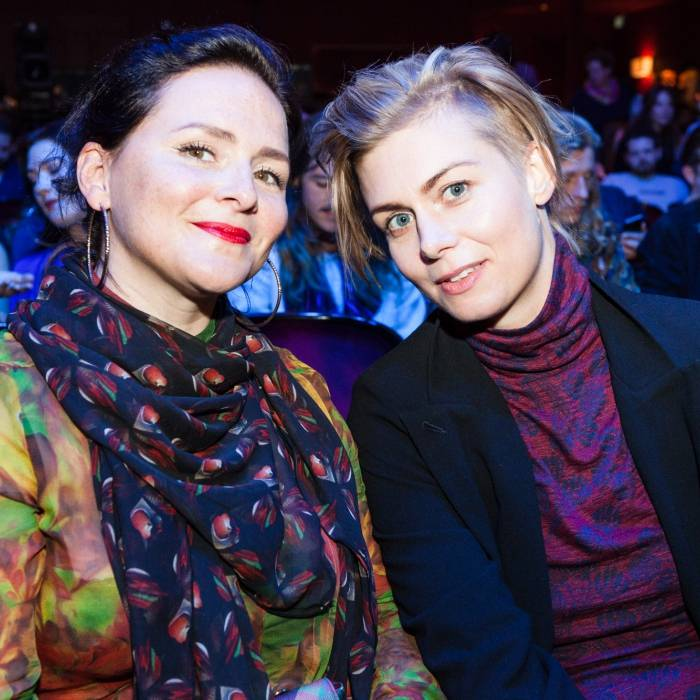 jurors Emiliana Torrini & Anna Ternheim at ANCHOR 2016 - The Show  | © Nina Zimmermann