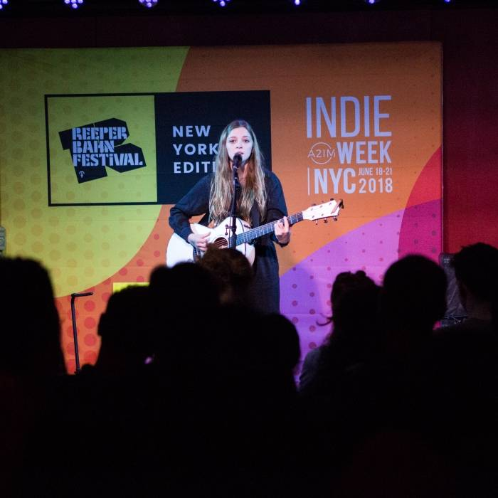 ANCHOR 2017 Winner Jade Bird at ANCHOR 2018 Jury Reception at A2IM Indie Week New York © Mimi Mohr